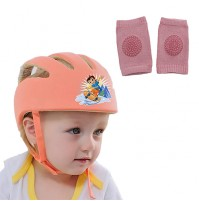 Chhota Bheem Baby Safety Helmet Orange