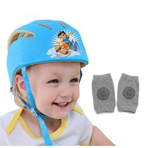 Chhota Bheem Baby Safety Helmet Blue