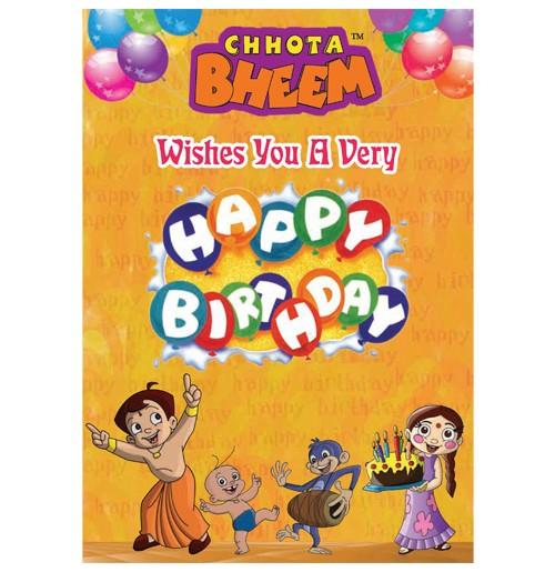 Chhota Bheem Greeting Card