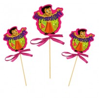 Chota Bheem Cake Topper Pack of 3 Pc