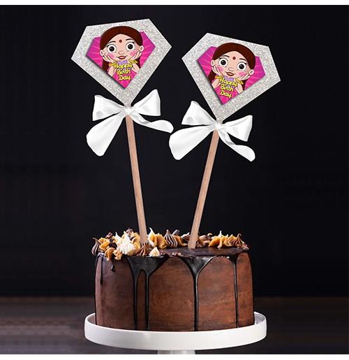 Chutki Birthday Popup Cake Topper