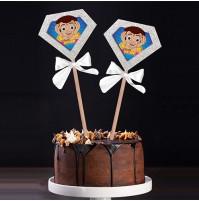 Chhota Bheem Birthday Popup Cake Topper