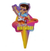 Cake Topper Birthday Bheem Pack of 100 Pc