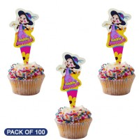 Cake Topper Birthday Chutki Pack of 100 Pc