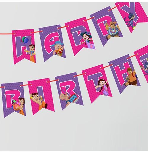 Chhota Bheem Birthday Banner