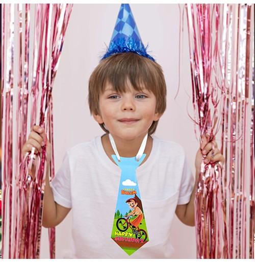 Birthday Party Tie - Chhota Bheem