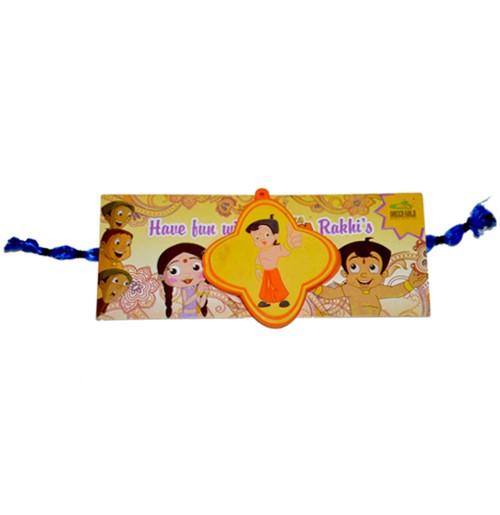 Chhota Bheem Rakhi - Yellow & Orange