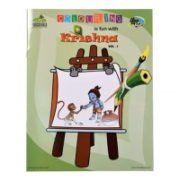 Krishna Coloring Book