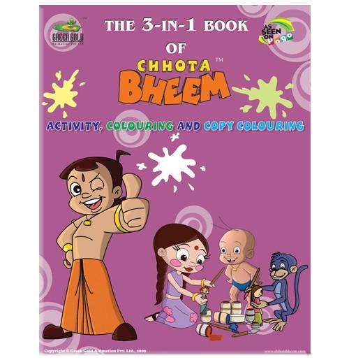 The 3-IN-1 Book Of Chhota Bheem