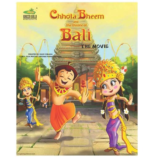 The Throne Of Bali - Movie Comic