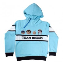 Chhota Bheem Hoodie Injected Blue and Black