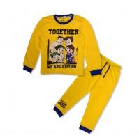 Chhota Bheem Night Suit Yellow and Blue