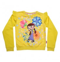 Chutki Sweat Shirt Yellow