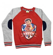 Super Bheem Sweat Shirt Blue and grey