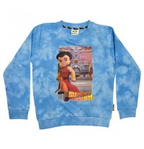 Super Bheem Sweat Shirt Blue