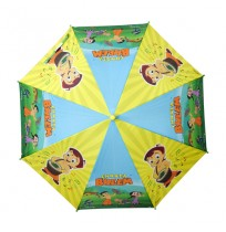 Chhota Bheem Umbrella Green Yellow