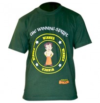 Chhota Bheem Mens T-Shirt - Green