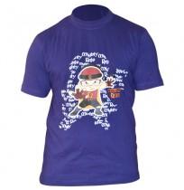 Mighty Raju Mens T-Shirt - Blue