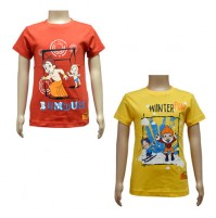 Boys T-Shirt Combo - Red & Yellow