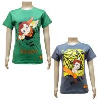 Boys T-Shirt Combo - Green & Grey