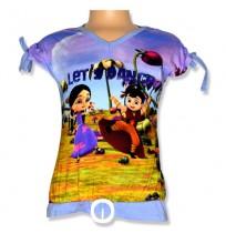 Chhota Bheem Digital Print T - Shirts