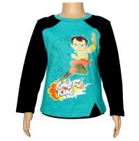 Chhota Bheem Full Sleeve T-Shirt  - Pool Green
