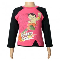 Chhota Bheem Full Sleeve T-Shirt  - Calypso Coral