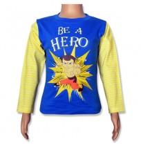 Chhota Bheem Full Sleeve T-Shirt - Imperial Blue