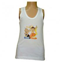 Chhota Bheem White - Boys Vest