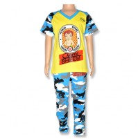 Chhota Bheem Night Suit - Yellow