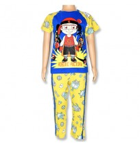Mighty Raju Night Suit - Blue