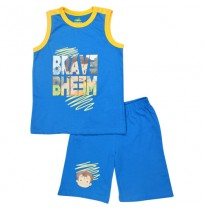 Chhota Bheem Short Set - Blue
