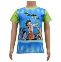 Sublimation T-Shirt - Blue and Green