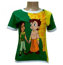 Bali T-Shirt - Green & Yellow