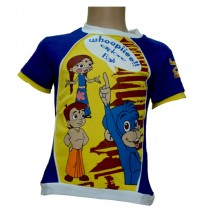 Bali T-Shirt - Blue and Yellow