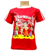 Chhota Bheem T-Shirt - Red
