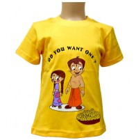 Chhota Bheem T Shirt - Yellow