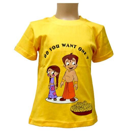 Chhota Bheem T Shirt - Yellow