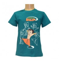Chhota Bheem Boys T-Shirt - Medium Green