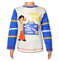 Chhota Bheem T-Shirt - Snow White and Blue