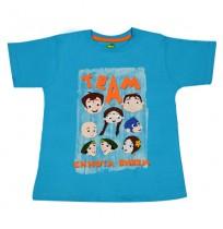 Chhota Bheem T Shirt - Turquoise Blue