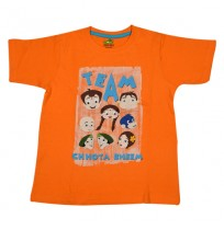 Chhota Bheem T Shirt - Orange