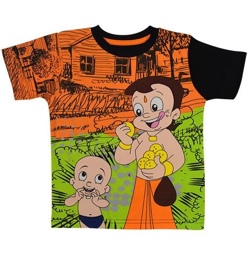 Chhota Bheem T Shirt - Green