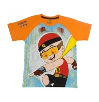 Mighty Raju T Shirt - Orange