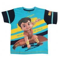 Super Bheem T Shirt - Turquoise Blue