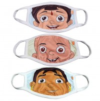 Chhota Bheem Kids Face Masks