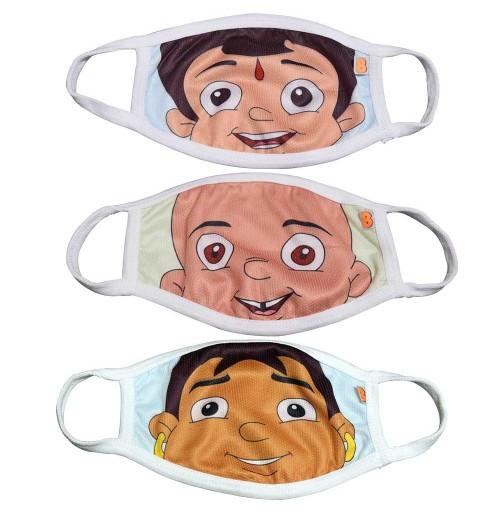 Chhota Bheem Kids Face Masks