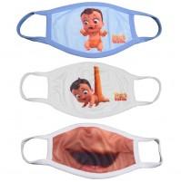 Mighty Little Bheem Kids Face Masks