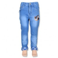 Mighty Raju Boys Denim Pant - Light Blue