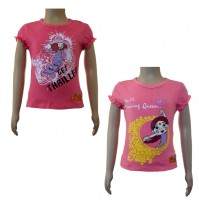 Girls Top Combo - Fuschia & Pink